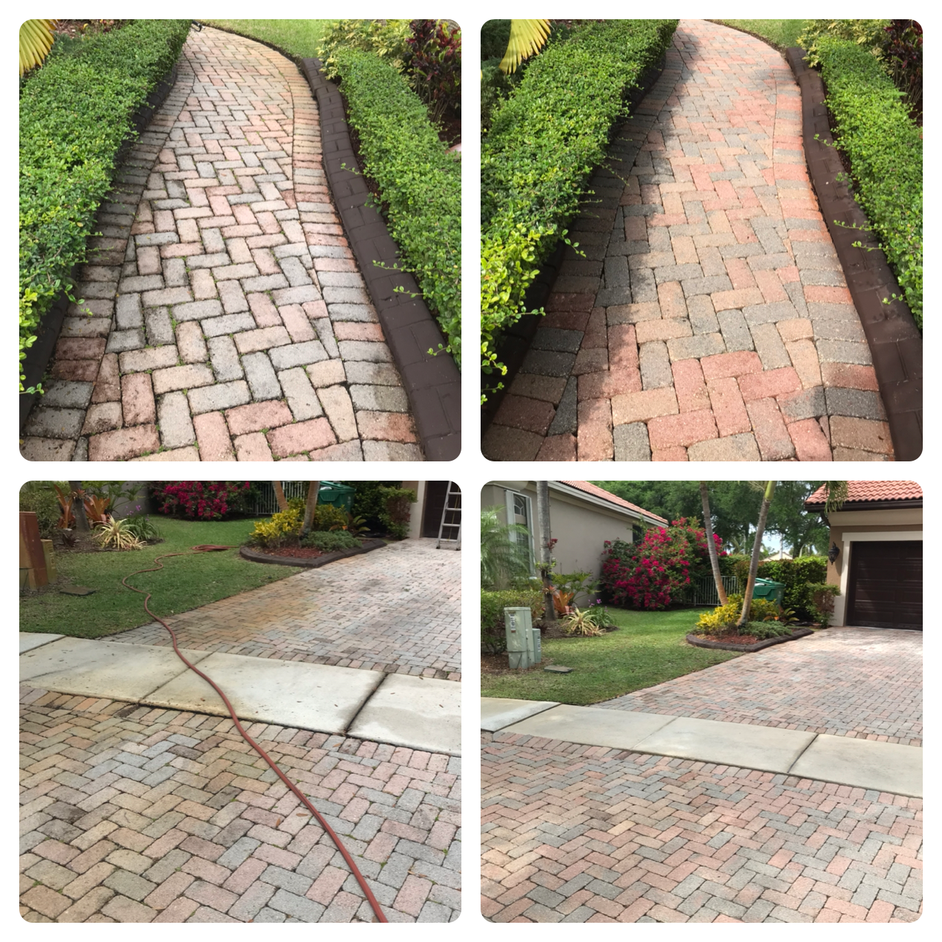 Paver Pressure Cleaning