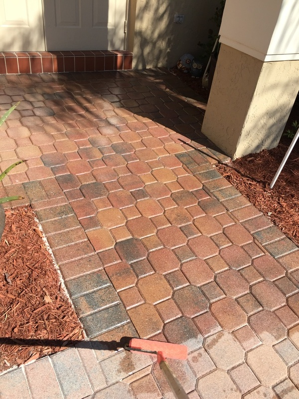 Pavers Sealing